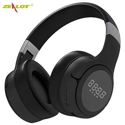 Slušalke ZEALOT LCD Display (black)