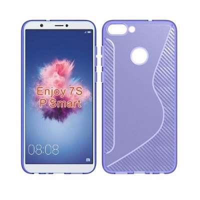 Ovitek TPU S-line (purple) za Huawei P Smart