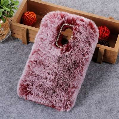 Ovitek TPU with fur