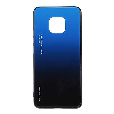 Ovitek TPU + glass (blue/black) za Huawei Mate 20 Pro