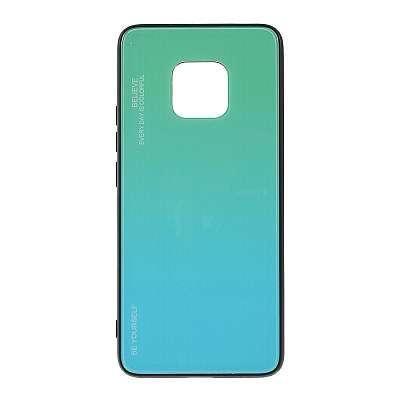 Ovitek TPU + glass (cyan) za Huawei Mate 20 Pro