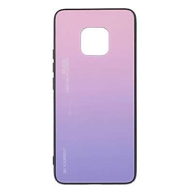 Ovitek TPU + glass (purple) za Huawei Mate 20 Pro