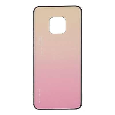 Ovitek TPU + glass (pink) za Huawei Mate 20 Pro