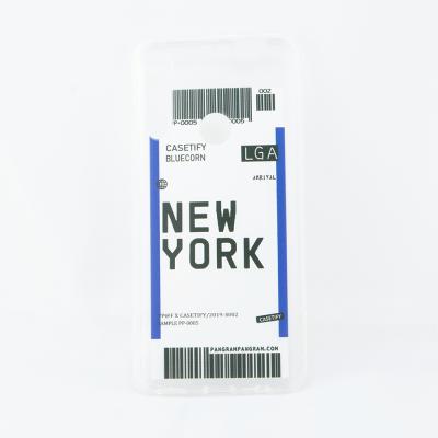Ovitek TPU GATE (New York) za Huawei P40 Lite E