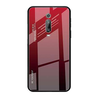 Ovitek TPU + glass (red) za Xiaomi K20
