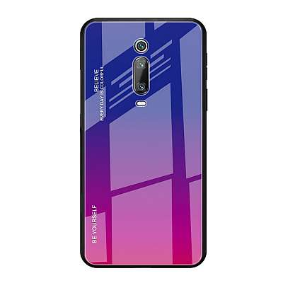 Ovitek TPU + glass (rose/blue) za Xiaomi K20