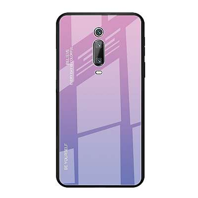 Ovitek TPU + glass (purple/rose) za Xiaomi K20
