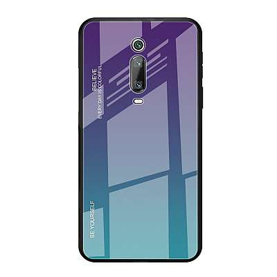 Ovitek TPU + glass (purple/blue) za Xiaomi K20