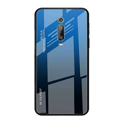 Ovitek TPU + glass (blue/black) za Xiaomi K20