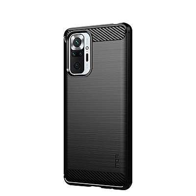 Ovitek MOFI (black) za Xiaomi Redmi Note 10 Pro Max / Redmi Note 10 Pro