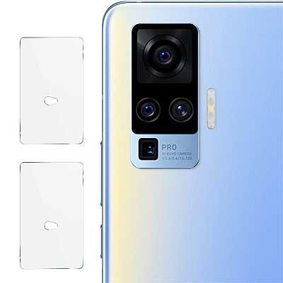 Zaščitno steklo za kamero IMAK za Realme X50 Pro