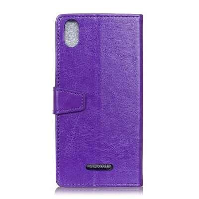 Preklopni ovitek (purple) za Wiko View2 Go