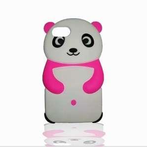 Ovitek 3D Panda (pink) za iPhone 7/8