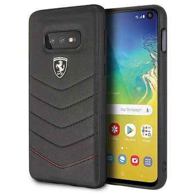 Originalen ovitek Ferrari (Heritage Quilted Collection) za Samsung Galaxy S10 Plus