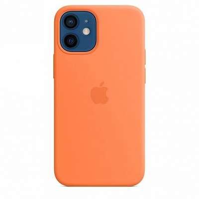 Original ovitek Apple (orange) za iPhone 12 Pro Max