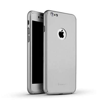 Ovitek 360° (Srebren) za Apple iPhone 5/5s/SE