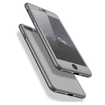 Ovitek 360° (srebrn) za Apple iPhone X/XS