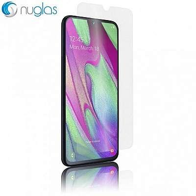 Kaljeno zaščitno steklo Nuglas (Prozoren) za Samsung Galaxy A7 2018