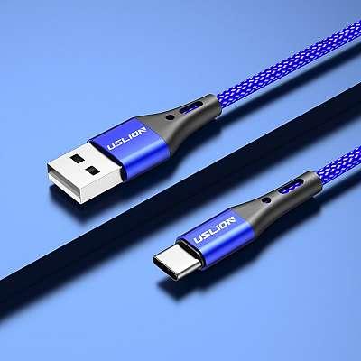 Kabel C-Type USLION (Fast Charging) 2m