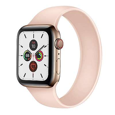 Silikonski pašček (pink) za Apple Watch 4/5/6/SE 44mm / Apple Watch Series 1/2/3 42mm