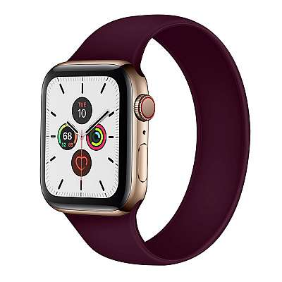 Silikonski pašček (purple) za Apple Watch 4/5/6/SE 44mm / Apple Watch Series 1/2/3 42mm