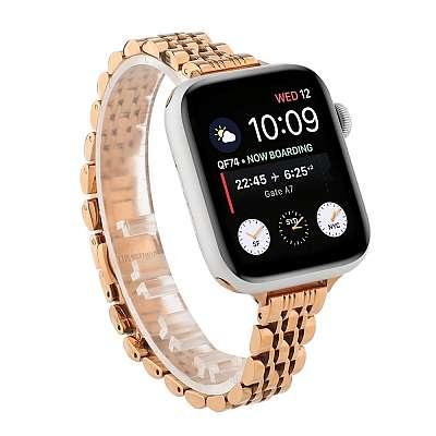 Kovinski pašček (gold) za Apple Watch Serien 6/SE/5/4 40mm / Series 3/2/1 Watch 38mm