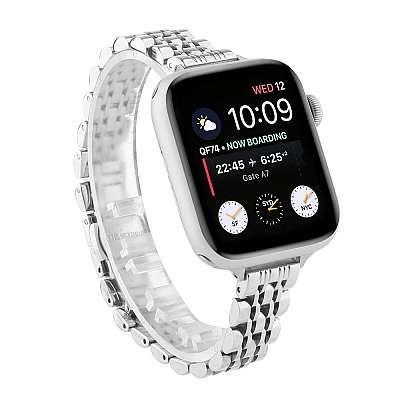 Kovinski pašček (silver) za Apple Watch Serien 6/SE/5/4 40mm / Series 3/2/1 Watch 38mm