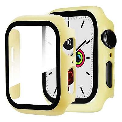 Zaščita za pametno uro (rumena) - Apple Watch Series 4 40mm