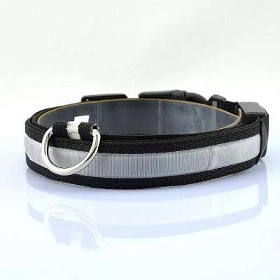 Pametna pasja ovratnica LED (Black) XS-Extra Small