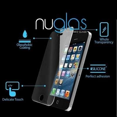 Kaljeno zaščitno steklo Nuglas za LG G7