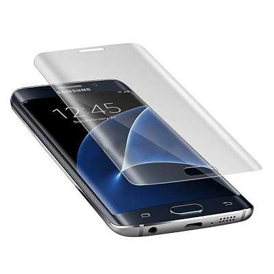 Kaljeno zaščitno steklo 3D za Samsung Galaxy S6 Edge Plus