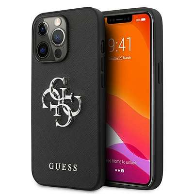 Original ovitek Guess (black) za  iPhone 13 Pro Max 4G