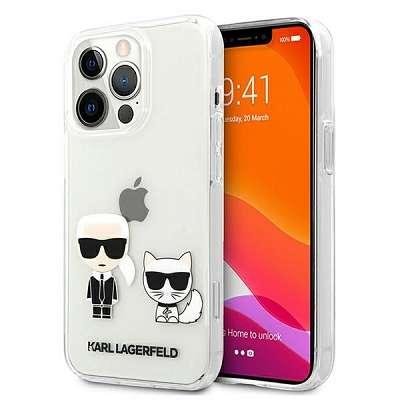 Original ovitek Karl Lagerfeld (transparent) za  iPhone 13 / 13 Pro