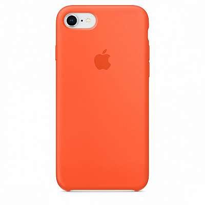 Ovitek TPU Silicone (orange) za iPhone 7/8/SE 2020