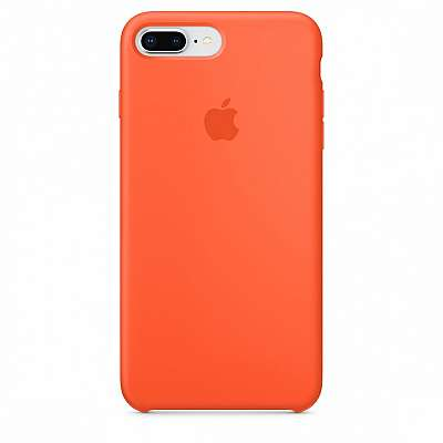 Ovitek TPU Silicone (orange) za iPhone 7 Plus/8 Plus