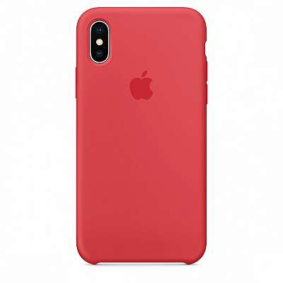 Ovitek TPU Silicone (red) za iPhone X/XS