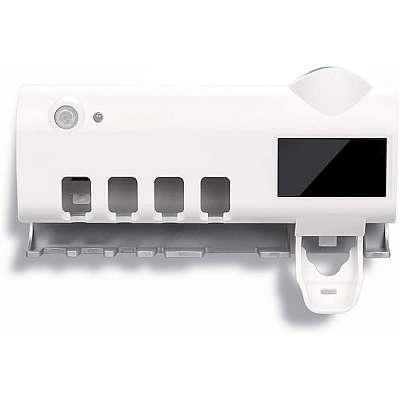 UV sterilizator za zobne ščetke+dozirnik zobne paste