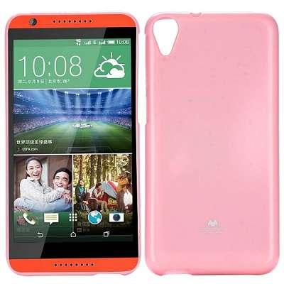Ovitek TPU Goospery (roza) za HTC Desire 820