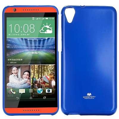 Ovitek TPU Goospery (moder) za HTC Desire 820