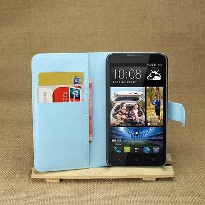 Preklopni ovitek (moder) za HTC Desire 516
