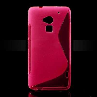 Ovitek TPU (roza) za HTC One Max