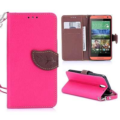 Preklopni ovitek (Roza) za HTC Desire 610