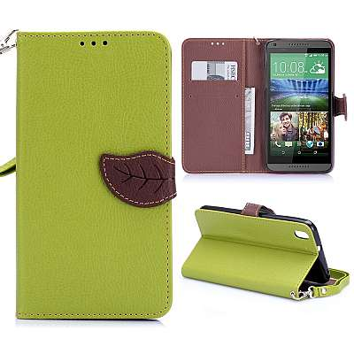Preklopni ovitek (Zelen) za HTC Desire 816