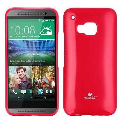 Ovitek TPU Goospery (rdeč) za HTC One M9