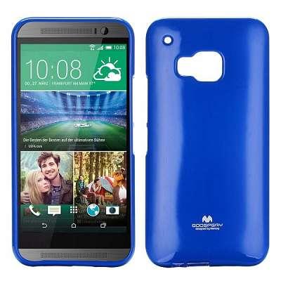 Ovitek TPU Goospery (moder) za HTC One M9