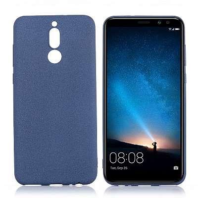 Ovitek TPU (moder) za Huawei Mate 10 Lite