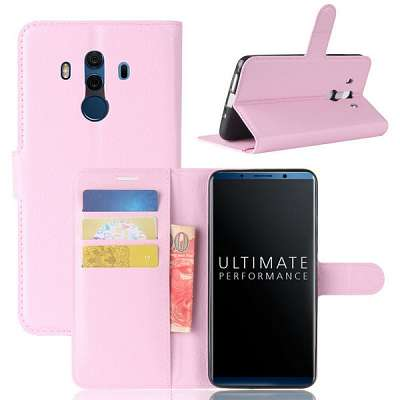 Preklopni ovitek (svetlo roza) za Huawei Mate 10 Pro