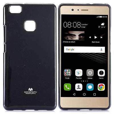 Ovitek TPU Goospery (črn) za Huawei P9 Lite