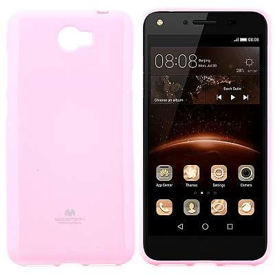 Ovitek TPU Goospery (roza) za Huawei Honor 5 / Y5II