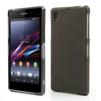 Ovitek TPU (črn) za Sony Xperia Z1